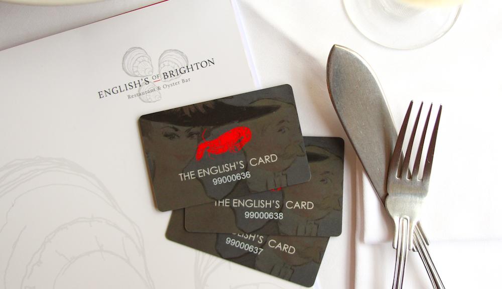 English's Gift Card