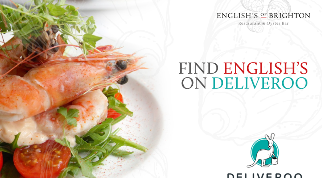 English's of Brighton now available to order through Deliveroo