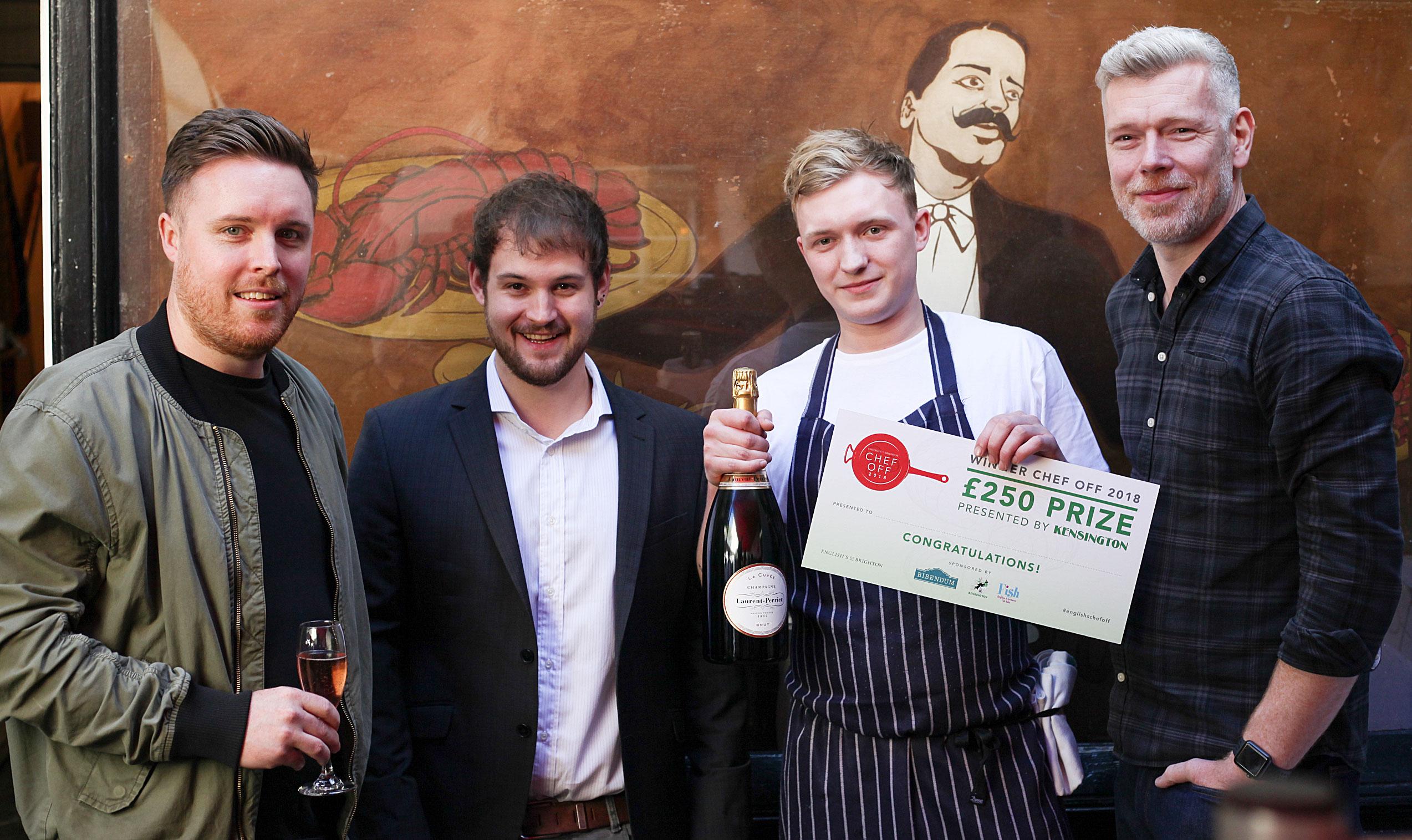 English's Chef Off - Winners 2018